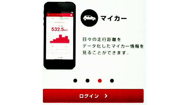NISSAN DriveCollectorログイン表示
