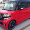 N-BOXカスタム赤黒2トーン