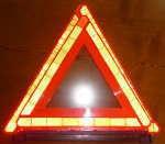 高速道路の必須アイテム!三角停止版