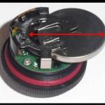 Fobo Tireの電池交換風景