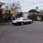 静岡県警のパトカー