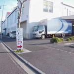 三井のアウトレット ベイサイド横浜の駐車場入り口