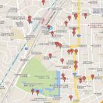 小田原城周辺の駐車場