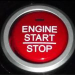N-BOXのENGINE START/STOPスイッチ