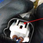 集中ドアロック(助手席)の修理 アクチュエーター交換