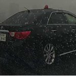 首都高速で発見したマークXの覆面パトカー