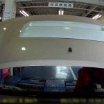 ダイハツ・MAXの車検風景(コバック)