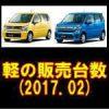 平成29年2月の軽自動車販売動向