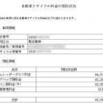 自動車リサイクル券の代用PDF