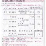自動車の運転免許証 更新連絡書(お知らせ)