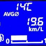 デイズの燃費計