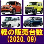 令和 2年 9月 軽自動車 登録台数